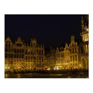 Mercado de Grote, Bruselas, Bélgica Postal