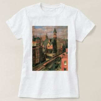 Mercado de Jefferson, sexta avenida. Nueva York C. Camisas