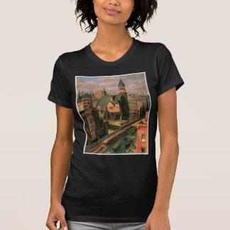 Mercado de Jefferson, sexta avenida. Nueva York C. Camiseta