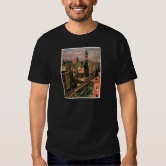 Mercado de Jefferson, sexta avenida. Nueva York C. Camisetas