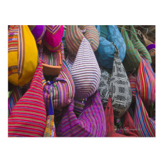 Mercado indio, Miraflores, Lima, Perú Postal