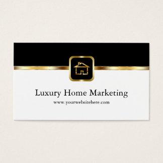 Mercado interior de lujo tarjeta de negocios