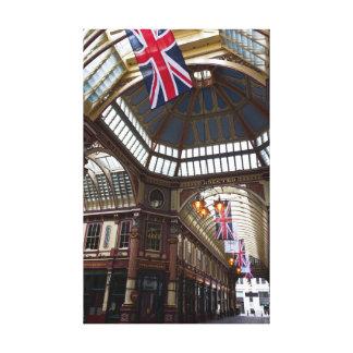 Mercado Londres de Leadenhall Impresiones En Lona