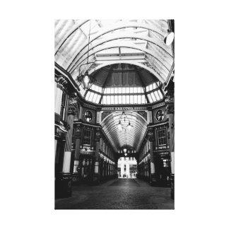 Mercado Londres de Leadenhall Lona Envuelta Para Galerias