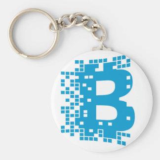 Mercancía de Bitcoin Llavero Redondo Tipo Chapa