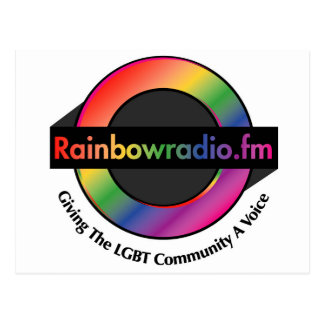 Mercancía de radio de FM del arco iris Postal