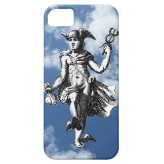 Mercury con alas en las nubes funda para iPhone SE/5/5s