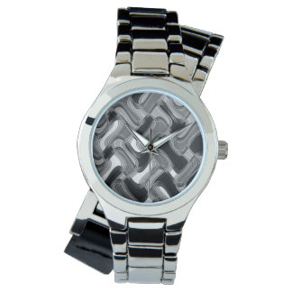 Mercury y el reloj de plata envuelto de las