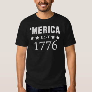 MERICA EST.1776 CAMISETAS