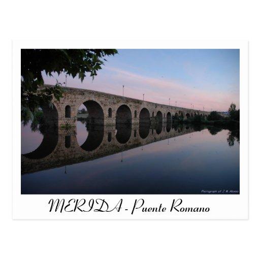 Baños Romanos Merida:MERIDA – Puente Romano Postales