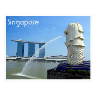 merlion del casino de Singapur Postal