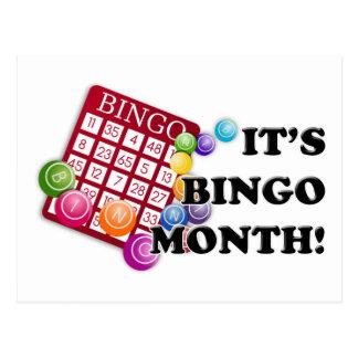 Mes del bingo postal
