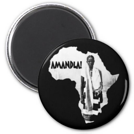 ¡Mes negro de la historia - AMANDLA! Imán Para Frigorifico