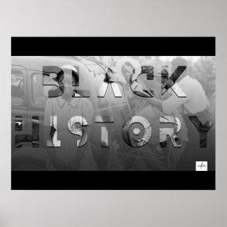 Mes negro de la historia póster