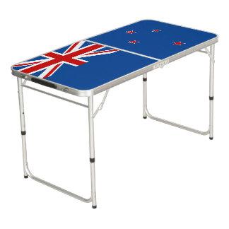 Mesa De Pong Bandera de Nueva Zelanda