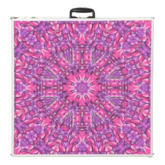 """Mesa De Pong Caleidoscopio púrpura rosado 96"""" del vintage de n"""