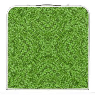 """Mesa De Pong Caleidoscopio verde 48"""" del vintage que va"""
