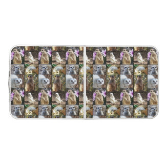 Mesa De Pong Collage de la foto de Meerkat, tabla de aluminio
