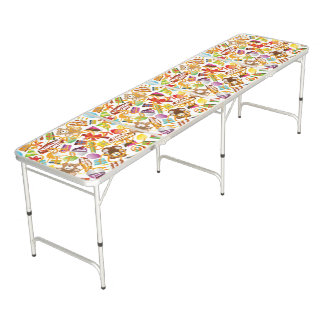 Mesa De Pong Ejemplo del modelo del feliz cumpleaños