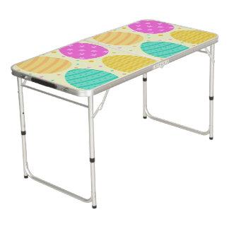 Mesa De Pong Modelo colorido lindo de los huevos de Pascua