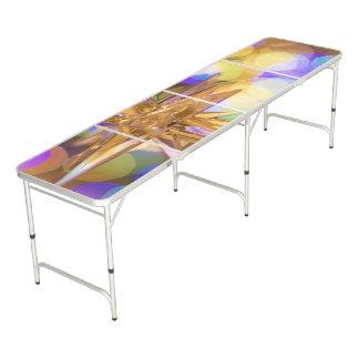 Mesa De Pong Nueva tabla purpurinoso de Pong de la cerveza