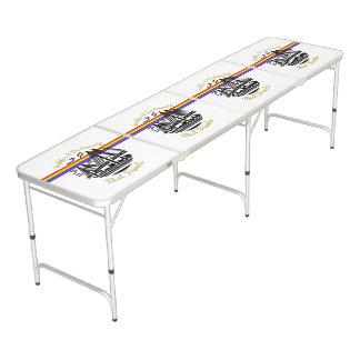 Mesa De Pong Tabla de ping-pong de los mejores amigos de