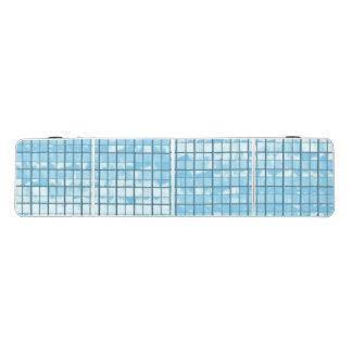 Mesa De Pong Tabla de Pong con el modelo de cristal azul de