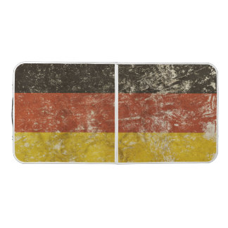Mesa De Pong Tabla de Pong con la bandera de Alemania del