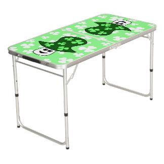 Mesa De Pong Tabla de Pong de la seta de St Patrick