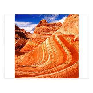 Meseta Paria Utah de Colorado del barranco Postal