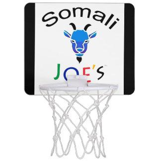Meta azul del Mini-Baloncesto de la cabra de Billy Mini Aro De Baloncesto