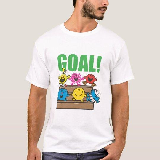 Meta de los aficionados al fútbol el | de Sr. Men Camiseta