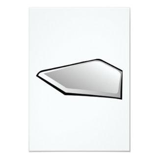 Meta del béisbol invitación 8,9 x 12,7 cm