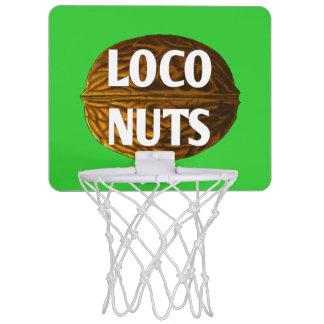 Meta Nuts del baloncesto del loco VIVO de RichLoco Mini Tablero De Baloncesto