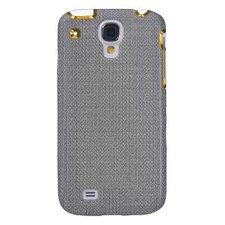 Metal de cadena de plata con la frontera iPhone3G  Carcasa Para Galaxy S4