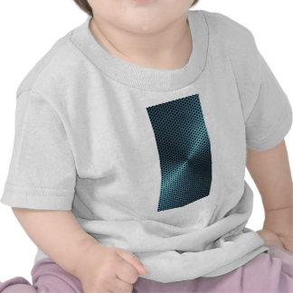 Metal de la turquesa camisetas
