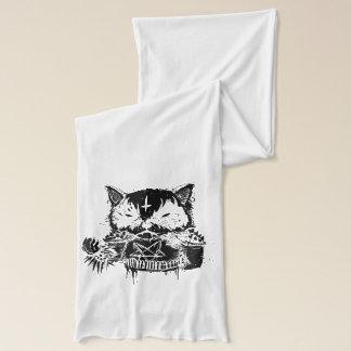 Metal del gato bufanda