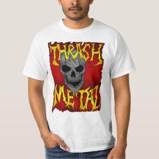 Metal del movimiento de piernas camisetas