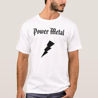 Metal del poder camiseta