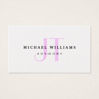 Metal plateado elegante profesional del oro dorado tarjeta de negocios