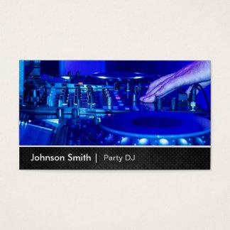 Metal superior fresco - placa giratoria que tarjeta de negocios