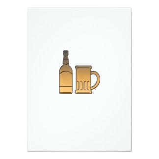 metálico aislada taza de oro de la botella de comunicados personalizados