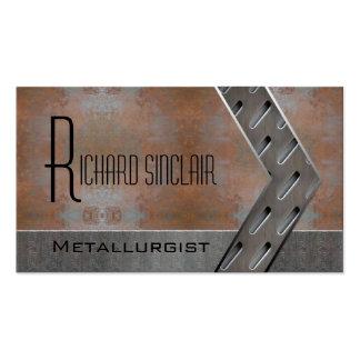 Metalurgia Style2 Tarjetas De Visita