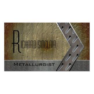Metalurgia Style3 Tarjetas De Visita