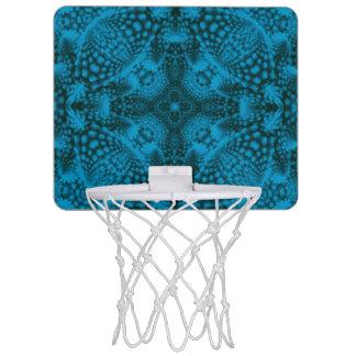 Metas del baloncesto del cielo del teñido anudado mini tablero de baloncesto