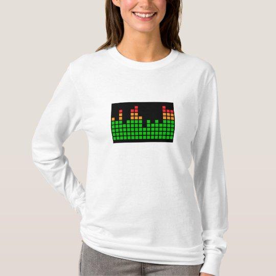 Metro del LED Camiseta