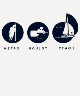 ¡Metro, Trabajo, Ciao! Camiseta