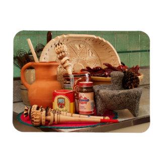 Mexican_Cocoa tradicional Imán Flexible
