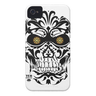 Mexican Skull iPhone 4 Carcasas