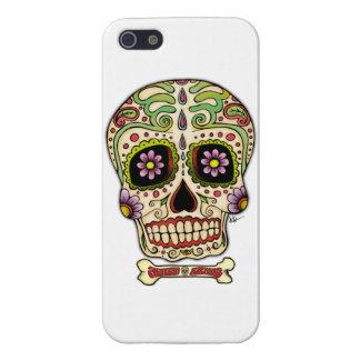Mexican Skull !!! iPhone 5 Carcasas